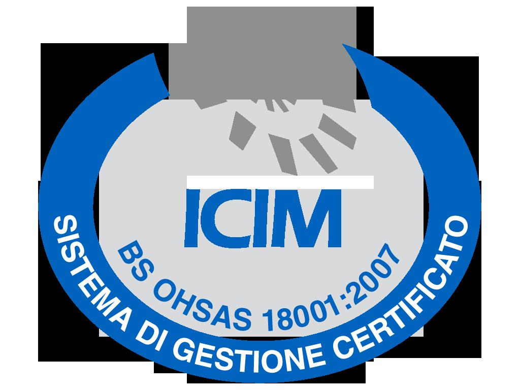 Logo certificazione 18001:2007